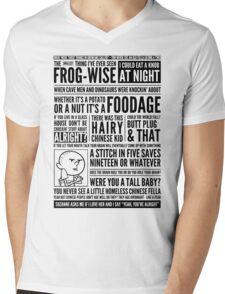 Bald Mank Mens V-Neck T-Shirt