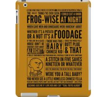 Bald Mank iPad Case/Skin