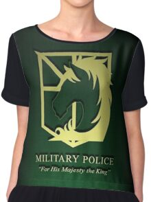 Attack on Titan Military Police 3D Chiffon Top