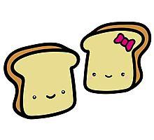 toast buddies Photographic Print