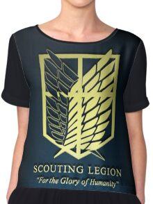 Attack on Titan Scouting Legion 3D Chiffon Top