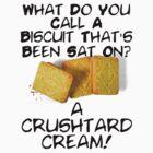Crushtard Cream Pun by georgestow