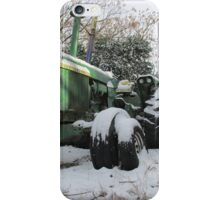 A Deere In The Snow iPhone Case/Skin