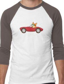 CORGIE Men's Baseball ¾ T-Shirt