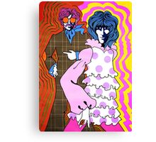 Groovy Boosh Canvas Print