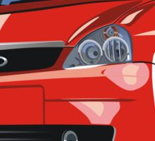 modern cartoon car Sticker