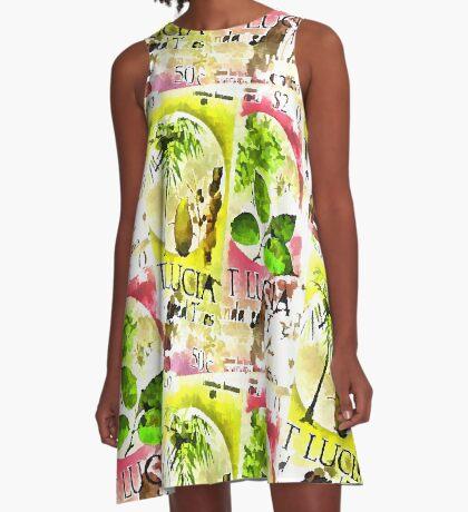 St Lucia A-Line Dress