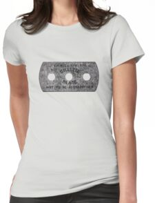 vintage razor Womens Fitted T-Shirt