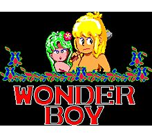 WONDER BOY - SEGA CLASSIC GAME Photographic Print