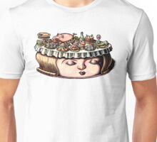 Dining Table Face Unisex T-Shirt