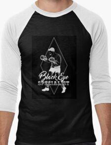 Black eye specialist in white. boxing artwork quote Men's Baseball ¾ T-Shirt