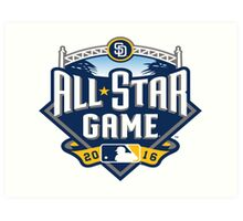 MLB All-Star Game Art Print