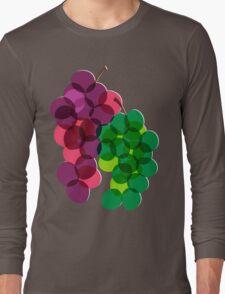 Retro Grapes Long Sleeve T-Shirt