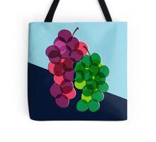 Retro Grapes Tote Bag