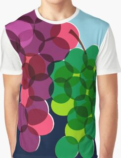Retro Grapes Graphic T-Shirt