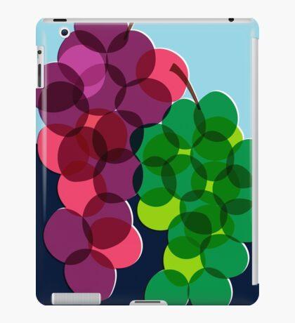 Retro Grapes iPad Case/Skin