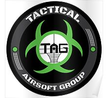 TAG Airsoft Souveniers. Poster