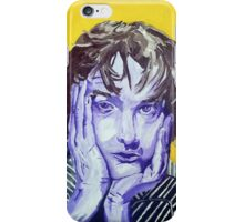 Jarvis Cocker Acrylic on Canvas iPhone Case/Skin