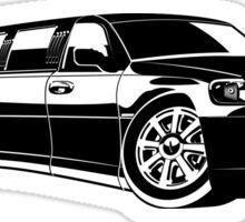 Cartoon limousine Sticker