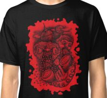 BEEE GOOOD (red reverse print) Classic T-Shirt