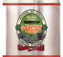 Aspen Beer Can by chachi-mofo