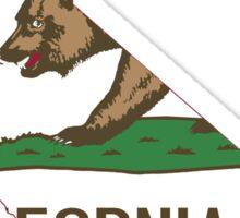 California Flag Map  Sticker