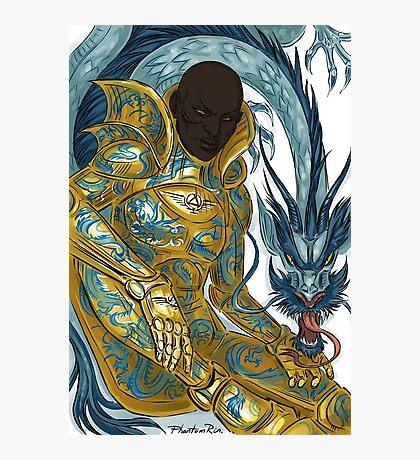 dragon armour Photographic Print