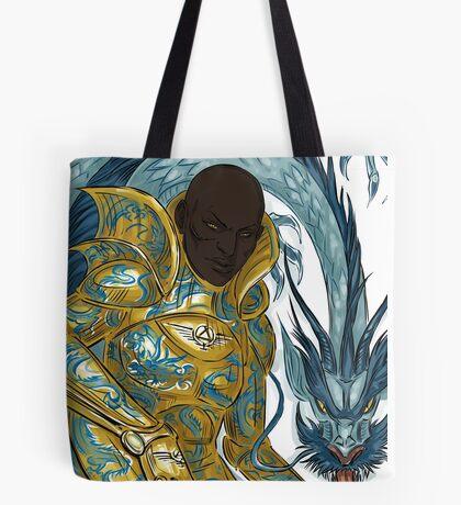 dragon armour Tote Bag