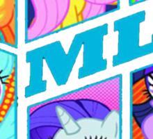 MLP MANE 6 Sticker