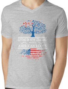 Living In New Zealand With American Roots T-Shirt