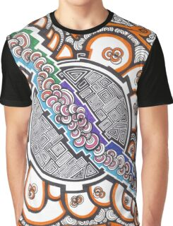 cellule abstract art drawing crazy mind Graphic T-Shirt