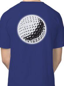 GOLF, GOLFING, SPORT, Golf Ball, NAVY BLUE Classic T-Shirt
