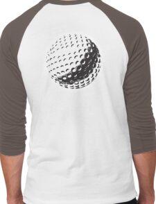 GOLF, GOLFING, SPORT, Golf Ball, NAVY BLUE Men's Baseball ¾ T-Shirt