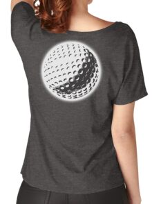 GOLF, GOLFING, SPORT, Golf Ball, NAVY BLUE Women's Relaxed Fit T-Shirt
