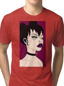 blank stares Tri-blend T-Shirt