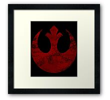 Rebel Alliance Symbol Framed Print
