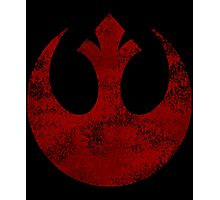 Rebel Alliance Symbol Photographic Print