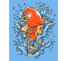 Magic Karp Koi Photographic Print