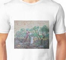 My painting, Olive Picking, art by Van Gogh Unisex T-Shirt