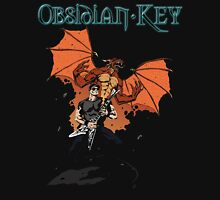 Obsidian Key - Sly Dragon and Sonic V - Progressive Rock Metal - Hand drawn Unisex T-Shirt