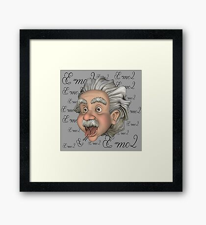 Big Head Al 2 Framed Print