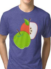 Retro Apple Tri-blend T-Shirt