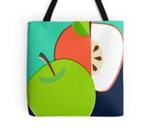 Retro Apple Tote Bag