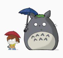 TheDandyTiger Chibi Style Totoro inspired Kids Tee