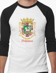Feliciano Shield of Puerto Rico Men's Baseball ¾ T-Shirt
