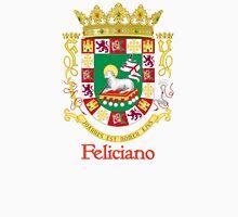 Feliciano Shield of Puerto Rico Unisex T-Shirt
