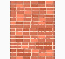 Pattern 021 Red Brick Wall, Rectangles Unisex T-Shirt