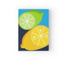 Retro Lemon & Lime Hardcover Journal