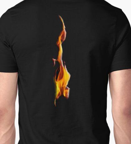 FLAME, Flaming, FIRE, BLAZE, BURN, IGNITE, FLAME, HEAT, LIGHT, WARMTH Unisex T-Shirt