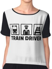 Train driver Chiffon Top